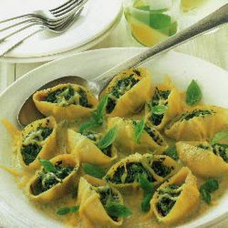 Stuffed Giant Pasta Shells Recipe