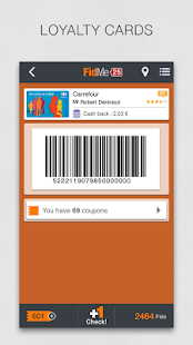 FidMe Loyalty Cards & Coupons - screenshot thumbnail