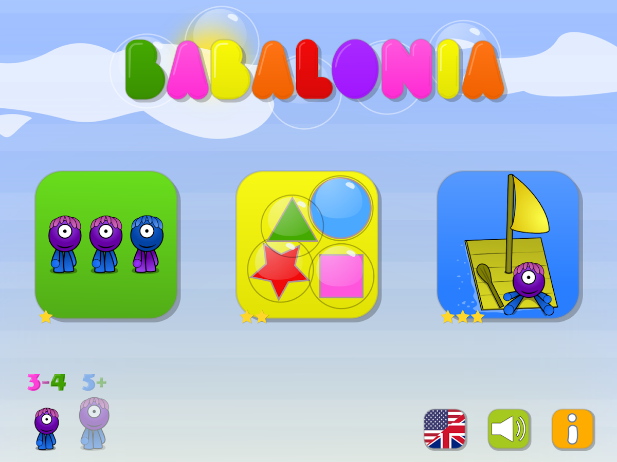 Playtime - 3 games for kids- screenshot