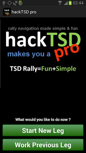 hack TSD pro Rally Computer