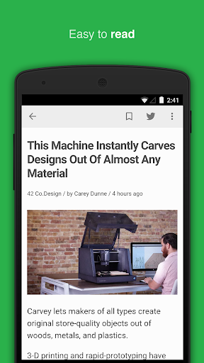 feedly: your work newsfeed app (apk) free download for Android/PC/Windows screenshot