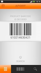 Barcode scanner, best price - screenshot thumbnail