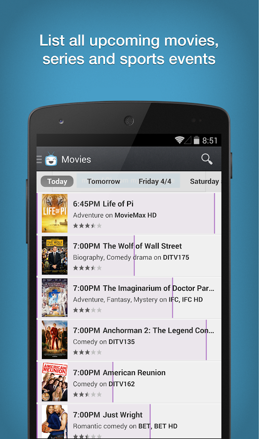 TV Listings by TV24 - TV Guide- screenshot