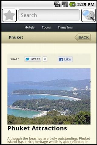 Phuket Travel Guide - screenshot