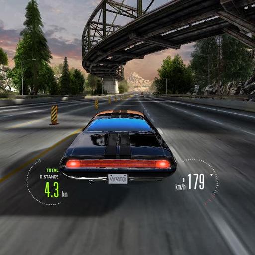 筋肉の車の交通 賽車遊戲 LOGO-玩APPs
