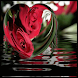 Red Heart Roses Live Wallpaper