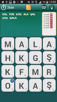 Screenshot of Kelime Bul