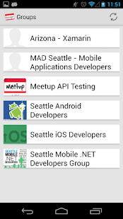Meetup Manager for Organizers - screenshot thumbnail