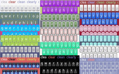 Transparent Keyboard Phone- screenshot thumbnail