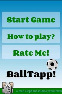 football game soccer juggle - screenshot thumbnail
