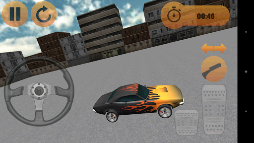 Muscle Car Drift Parking