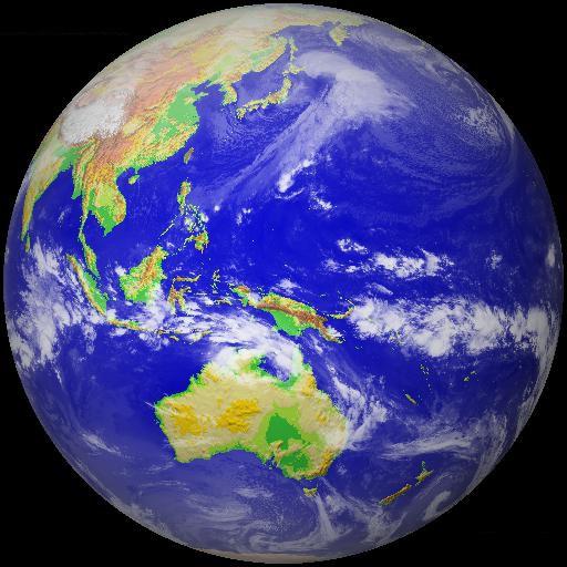 最新の衛星雲画像 LOGO-APP點子