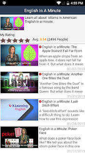VOA Learn English- screenshot thumbnail