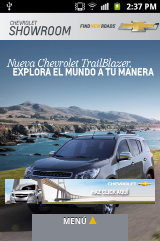 Chevrolet Showroom - screenshot