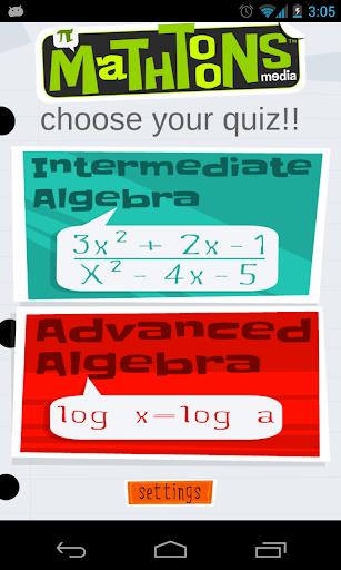 Algebra Advanced