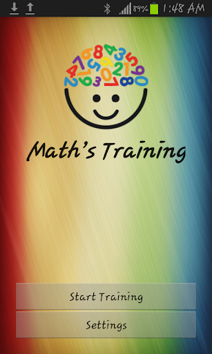 Math's Training