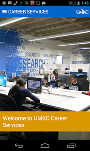UMKC Career Services- screenshot thumbnail