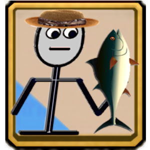 Stickb Fish Shooter Stickman for PC and MAC