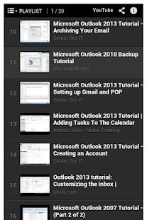玩教育App Microsoft Outlook Tutorial免費 APP試玩