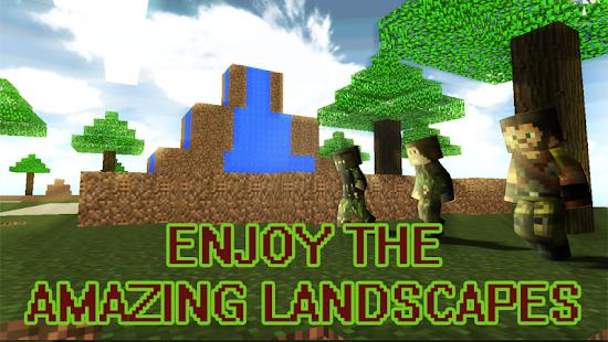1 Skyblock Island Survival Games App screenshot