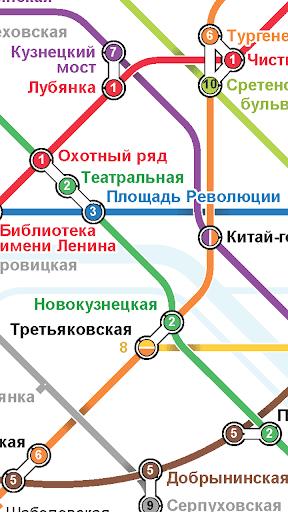 玩交通運輸App|莫斯科地鐵路線圖免費|APP試玩