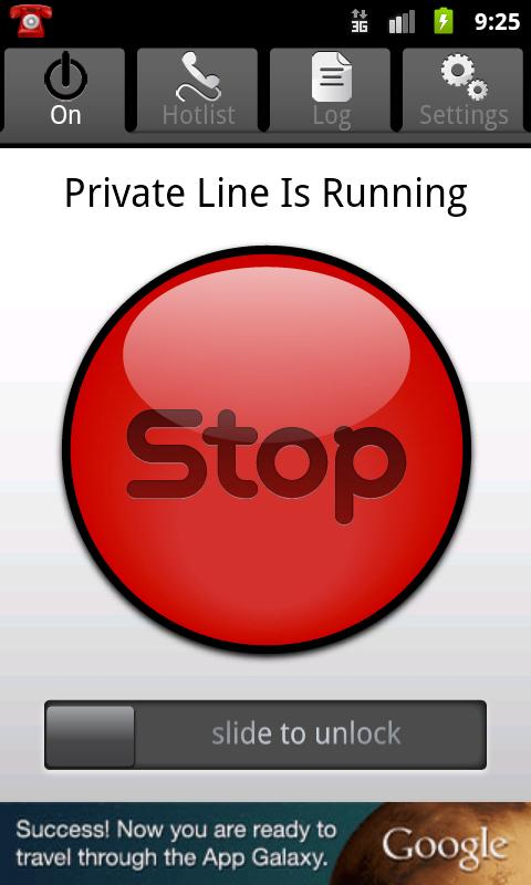 Private Line- Free Privacy - screenshot
