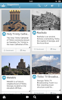 Screenshot of Georgia (country) by Triposo
