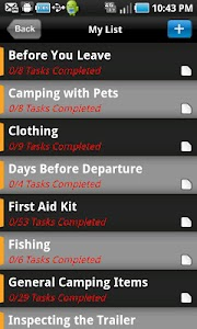 TRAILER CAMPING TRIP PLANNER screenshot 0