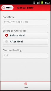 Blood Sugar Tracker- screenshot thumbnail
