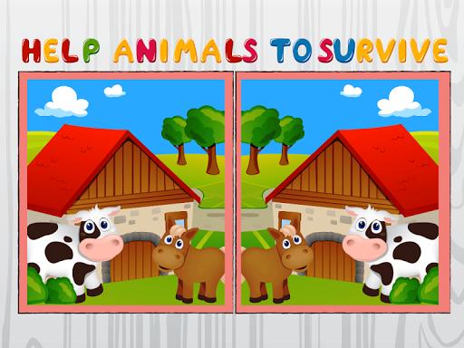 玩免費解謎APP|下載大自然和动物的区别 app不用錢|硬是要APP