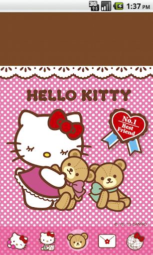 Hello Kitty Love Best Friend