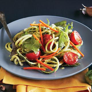 Pistachio Pesto Noodle Salad