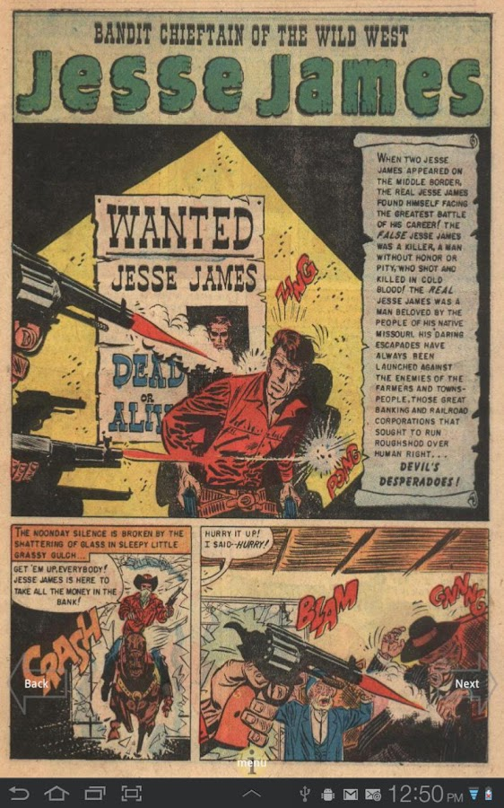 Jesse James Comic Book #6 - screenshot