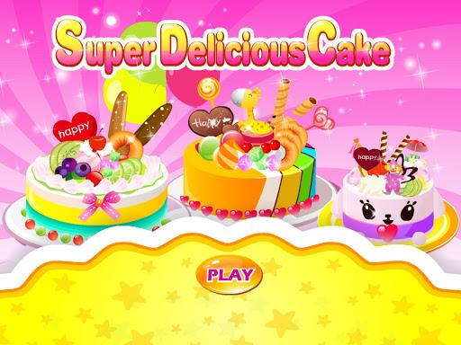 超級美味的蛋糕