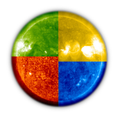 Images of the Sun from SOHO