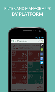 MyPermissions - Privacy Shield - screenshot thumbnail