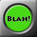 Blah Button logo