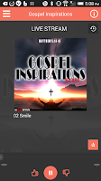 Screenshot of Gospel Inspirations Radio