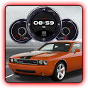 Dodge Challenger SR Clock LWP icon