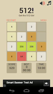 512! - 2048 for Kids - screenshot thumbnail