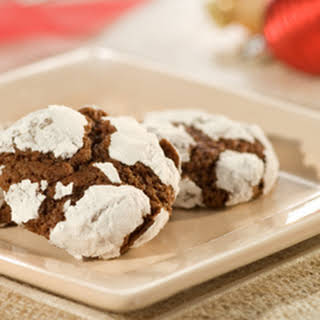 Fudgy Crinkle Cookies.