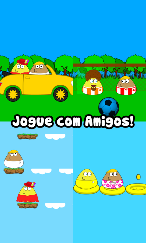 Pou: captura de tela
