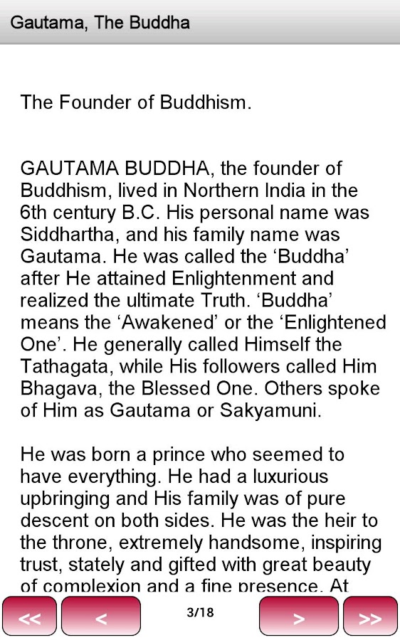 What Buddhists Believe - screenshot