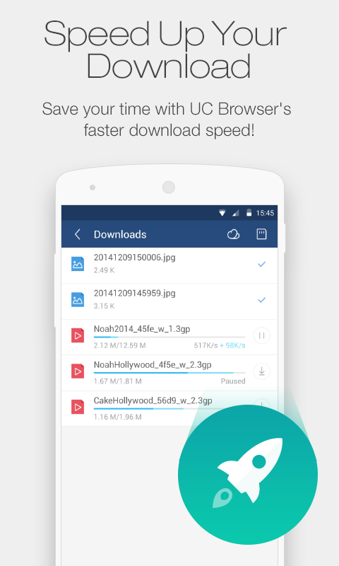 UC Browser Mini for Android - screenshot