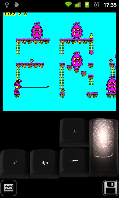 Beebdroid (BBC Micro emulator)- screenshot