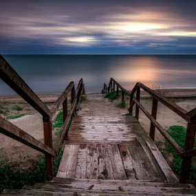 Sea Access by Luca Libralato - Landscapes Waterscapes ( latina, lazio, sea access, mar tirreno, agro pontino )