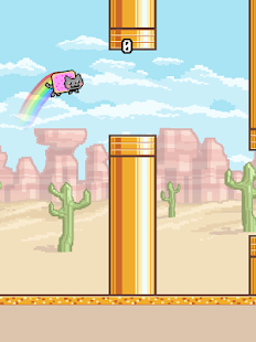 Flappy Nyan - screenshot thumbnail