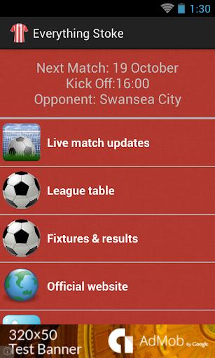 Everything Stoke City