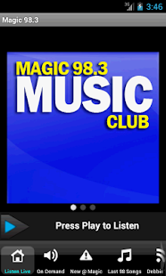 Magic 98.3 - screenshot thumbnail