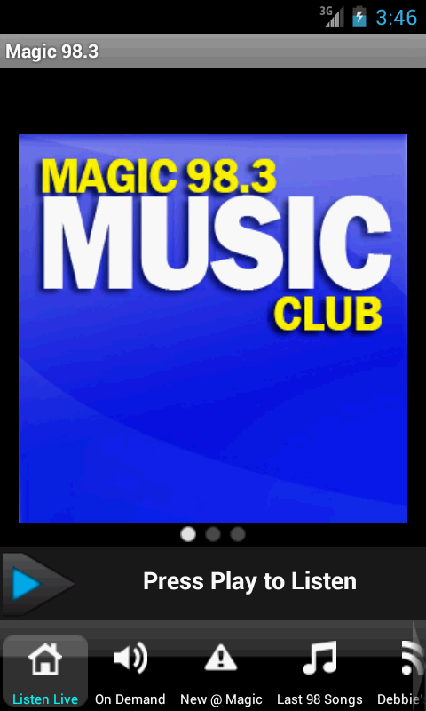 Magic 98.3 - screenshot